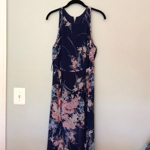 Yumi Kim Blue Floral Silk maxi